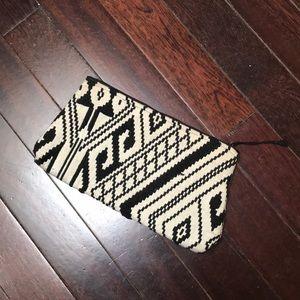 Woven Aztec Clutch